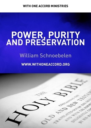 Power, Purity and Preservation (DVD)